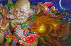 Charming Whimsical Paintings by Russian Painter Victor Nizotsev