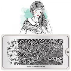 Doodles Nail Art Design 02