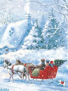 Sleigh ride would love one