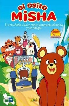 Osito Misa. Dibujos de la mascota olímpica