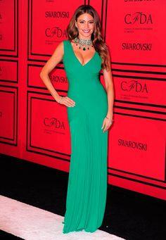 #Vestido #Dress #SofíaVergara http://fashionbloggers.pe/malu-delgado/cfda-la-alfombra-roja-de-los-oscars-de-la-moda
