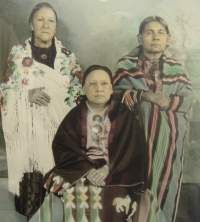 Osage Sioux Women, no names, date, location or relationship