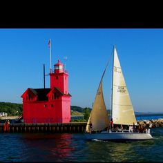 Big Red Lighthouse- Holland, MI