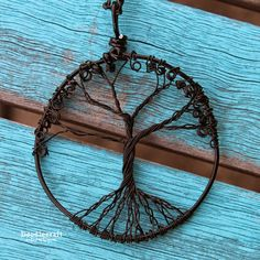 Wire Wrapped Tree of Life Pendant!