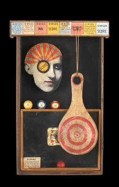 Kass Copeland assemblage/box art