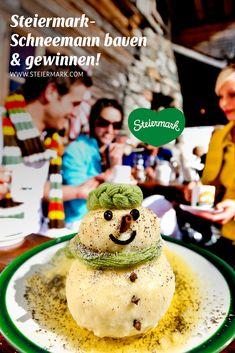 Du weißt ganz genau, wie ein Schneemann aus der Steiermark aussieht? Dann reiche ein Foto davon bei unserem Wettbewerb ein und gewinne einen von vielen attraktiven Preisen!