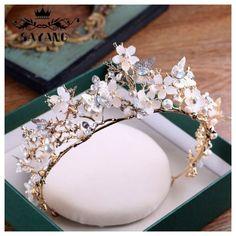 Prom Jewelry, Hair Jewelry, Wedding Jewelry, Bridal Crown, Bridal Tiara, Headband Wedding Hair, Bridal Headpieces, Prom Hair Accessories, Gold Accessories