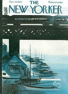 The New Yorker. An Arthur Getz cover from 1963.