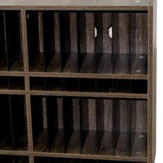 Wall-Mounted Hair Salon Color Bar Tube Rack for sale by Keller International. Black engineered hardwood, 42 holders & dividers for open chemical tube storage Salon Color Bar, Salon Hair Color, Salon Cart, Salon Trolley, Home Hair Salons, Hair Salon Interior, Hair Salon Stations, Rustic Salon, Mobile Hair Salon