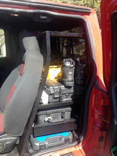 Storage Compartment Organizes Back Of Truck,  Https://www.truckcampermagazine.com