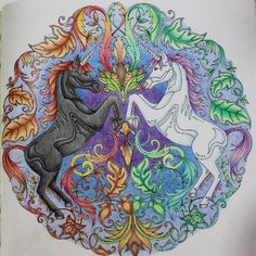 Take A Peek At This Great Artwork On Johanna Basfords Colouring Gallery