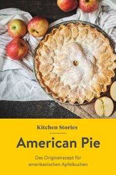 So wird der originale #AmericanPie gebacken! Unser #Rezept für den gedeckten #Apfelkuchen aus #Amerika zeigt dir mit Bildern Schritt für Schritt, wie es geht, damit auch nichts schiefgehen kann. Home Baking, Pie Dessert, Food Cravings, Cakes And More, Pie Recipes, Junk Food, Nom Nom, Sweet Tooth, Wordpress