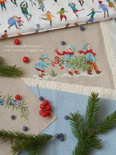 La maison du bonheur: About golden autumn and preparations for Christmas. Christmas Cross, Christmas 2017, Xmas, Cross Stitching, Cross Stitch Embroidery, Cross Stitch Patterns, Cross Stitch Collection, Cross Stitch Rose, Pearler Beads