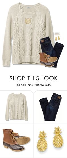 """{ Welcome 2k16 }"" by preppy-ginger-girl ❤ liked on Polyvore featuring American Eagle Outfitters, L.L.Bean, Kevin Jewelers and Kate Spade"