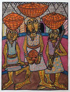Art from Africa | Twins Seven Seven - Nigerian Artist