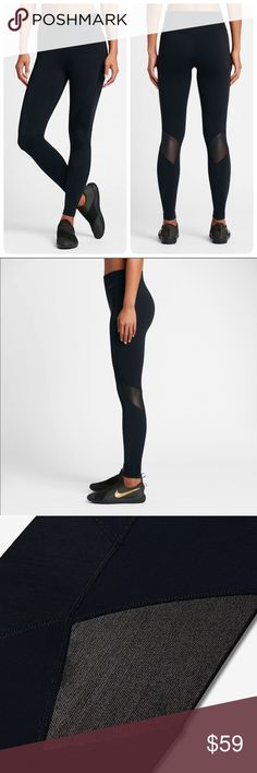 🚫✂️💥NWT💥 NIKE $105 Power Legendary tights~XL brand new with tag size XL black comes from smoke free home 100% guaranteed authentic Nike Pants Leggings