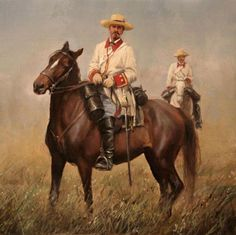 Spanish War, Spanish Heritage, The Spanish American War, Military Art, Military History, Philippine Army, Call Art, Le Far West, Beautiful Horses