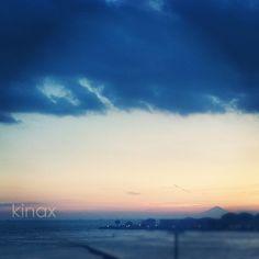 *  #イマソラ  *  晴れてると、ベランダから富士山が見えるよ(๑′ᴗ‵๑)  * - @kinax- #webstagram