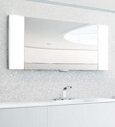 Keuco Edition 11: Die Beiden Seitlichen Lichtflügel Des Spiegelschrank  Können Jeweils Um 90 Grad Geschwenkt