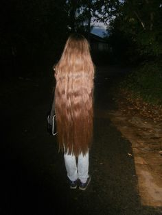 Super Long Hair, Beautiful Long Hair, Female Images, Long Hair Styles, Thick Hair, Daisy, Beauty, Color, Women