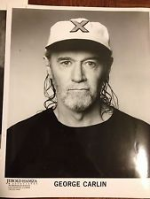 9 Glossy Photos - Stand Up Comedy - George Carlin - Penn & Teller - Poundstone
