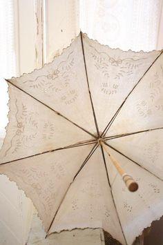 Broderie parasol