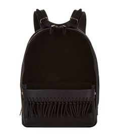 3.1 Phillip Lim Bianca Suede and Leather Backpack available to buy at Harrods…