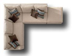 barcelona sectional sofa ottoman indian divan uk top view sofas - google search | photoshop pinterest ...