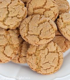 These biscuits are softer than most packaged versions, but you can extend the baking time a little if you prefer a crunchier result. Nut Recipes, Sweet Recipes, Cake Recipes, Cooking Recipes, Dessert Recipes, Ginger Nut Biscuits, Ginger Cookies, Biscuit Cookies, Biscuit Recipe