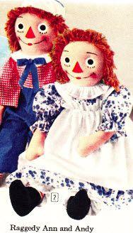 Loved Ragedy Ann and Andy! My grandma made my Raggedy Ann. I wish I still had her!