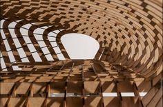 ▶ Inaugurada la Exposición 'Nueva Generación en Madera. Sostenibilidad y Nuevas Tecnologías en Estructuras Arquitectónicas'. Hasta el 8 de noviembre.