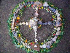 Medicine wheel 2  I don't know anything about these.. it's just beautiful to me.  That's healing in itself.  <3