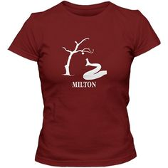 Literary T-Shirt  John Milton: Paradise Lost  by CreativeDaffodil