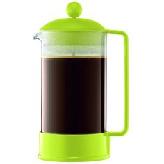 The Brazil French Press coffee maker, designed in the early 80's, was our first coffee maker and quickly became a symbol of what Bodum stands for. Attractive an...