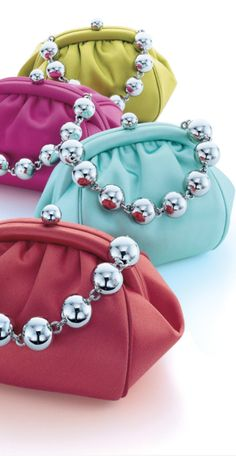 So what's your color choice?  I would like one of each please!  Trendy Tiffany Leather mini bags.