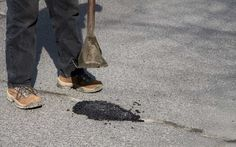 City seeks Potholes Reporting - wouldn't it be easier to report where there are NOT any potholes?