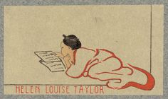 Bookplate of Helen Louise Taylor, Cincinnati, Ohio, c. 1900-1930, by The Library of Congress
