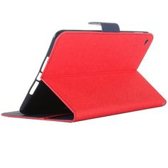 For+iPad+Mini+4+Red+Cross+Shockproof+Leather+Case+with+Holder,+Card+Slots+&+Wallet