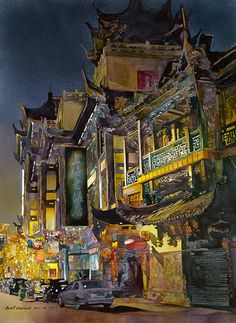 Urban Landscapes from John Salminen - Beautiful Lands
