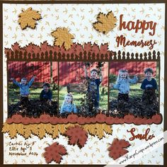 Hello and welcome! My friends and I at Creative Life Scrapbooking are so glad that you're joining us for our Fall Blog Hop! After you finish looking at my projects, click on the link at the…