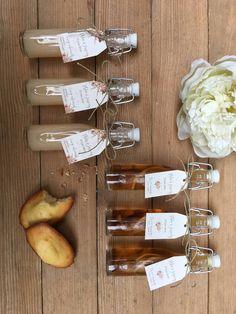 Mignonnettes d'huile d'olives fiole pour cadeaux