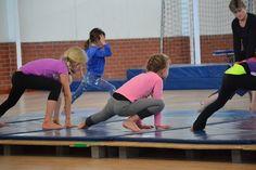 Gymnastics with Gym Wizards at Elkanah House prep schools.
