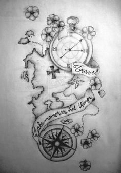 Im considering doing this but with a sailboat and a butterfly added. Hello next tattoo
