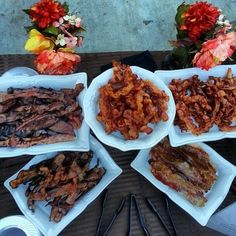 My friend just catered a glorious wedding with a bacon bar.