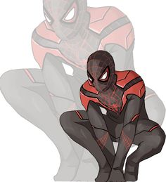 Spider/Man by sketchmasterskillz on DeviantArt Marvel Comics, Marvel Heroes, Anime Comics, Deadpool X Spiderman, Spiderman Spider, Spaider Man, Man Suit, Miles Morales Spiderman, Character Art