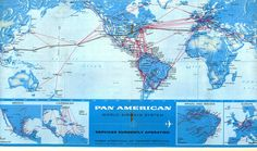 US MAP AIRWAYS ROUTE