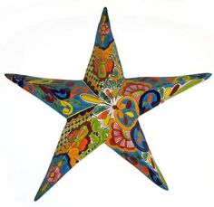 Mexican Talavera Star
