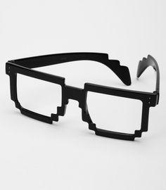 8-Bit Pixel Glasses