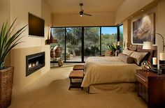Master bedroom with warm neutral tones African Style Interior Design To Usher In The Exotic And The Earthy