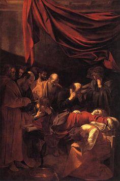 Caravaggio. Morte della vergine. 1604.
